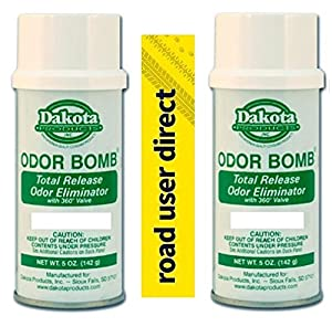 new car total release odor eliminator2 x NEW CAR SCENT Dakota Odor Bomb Odor Eliminator Total Release