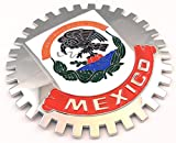 grille badges - Grille Badge Mexico for car truck grill mount Mexican flag