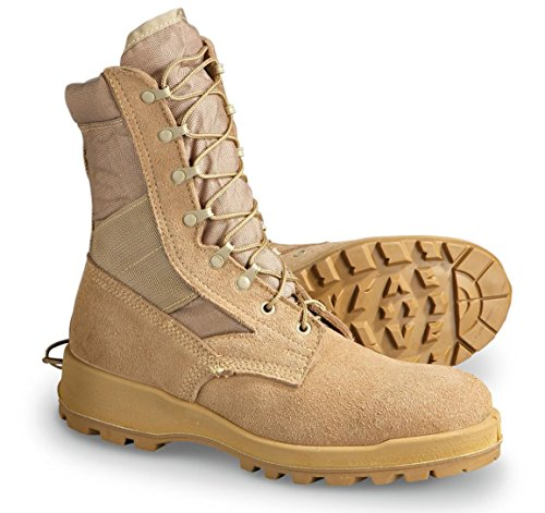 US Military Wellco Desert Tan Men's Combat Boots 14.5 R