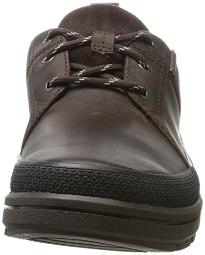 Clarks Brown Lea Rushwaylacegtx Dark Uomo Derby Marrone 0wn0fqra