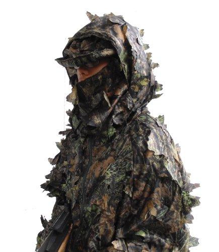 3-D Tree Leaf (leafy) Camo Suit, full fabric, Size XL