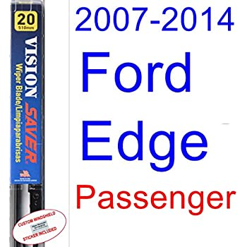 2007-2014 Ford Edge Wiper Blade (Passenger) (Saver Automotive Products-Vision Saver) (2008,2009,2010,2011,2012,2013)