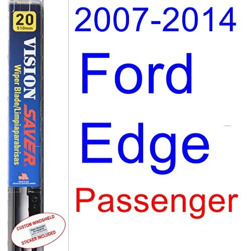 Ford Edge Wiper Blade Passenger Saver Automotive Products Vision