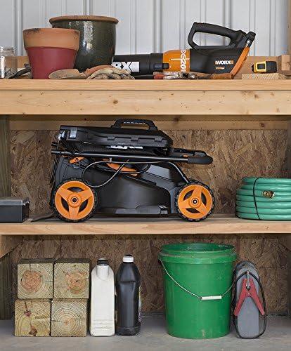 "WORX WG779 40V Power Share 4.0 Ah 14"" Lawn Mower Best Battery Lawn Mower"