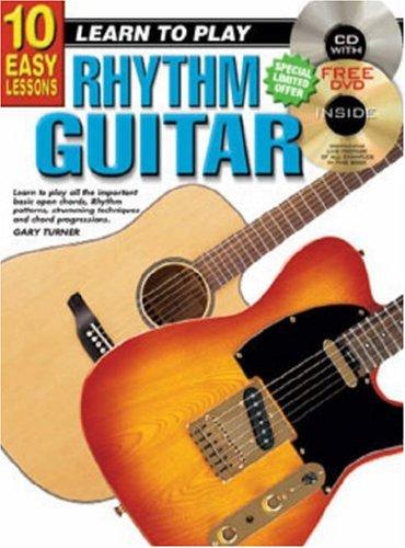 CP69102 - 10 Easy Lessons Learn to Play Rhythm Guitar BK/CD/DVD