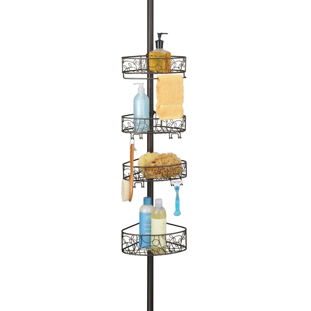 InterDesign Twigz 5 Piece Bath and Shower Bundle,