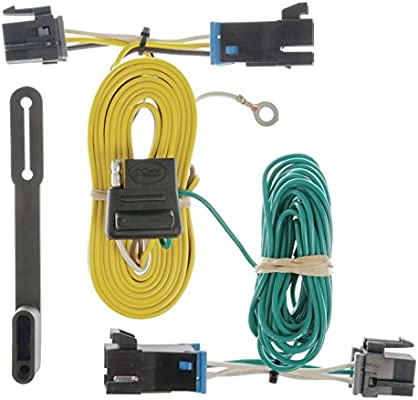 curt 55540 vehicle side custom 4 pin trailer wiring harness for select chevrolet express, gmc savana Model A Wiring Harness
