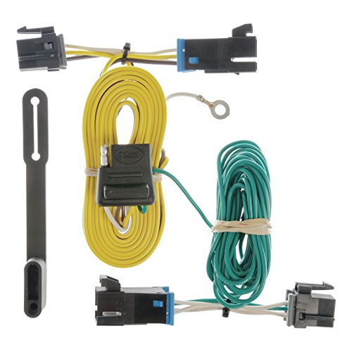 CURT 55540 Vehicle-Side Custom 4-Pin Trailer Wiring Harness for Select Chevrolet Express, GMC Savana ()
