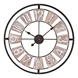 Lacrosse 404-4070 27.5 Inch Industrial Decorative Quartz Wall Clock