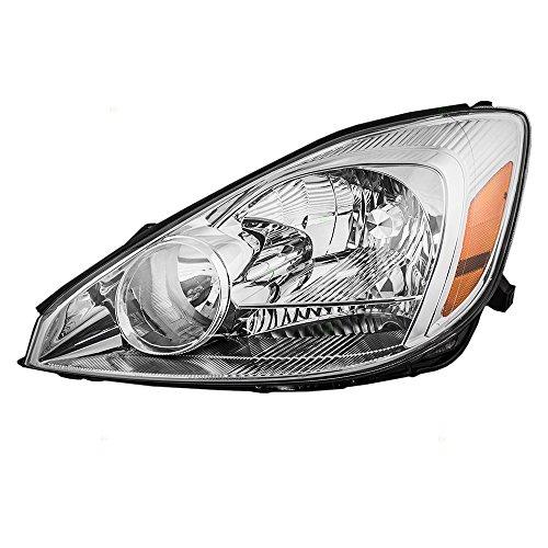 Drivers Halogen Headlight Headlamp Replacement for Toyota Van 81150AE010 AutoAndArt