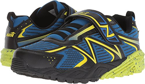 Avia Boys' Avi-Force II Sneaker, Black/Electric Blue/Highlighter, used for sale  Delivered anywhere in USA