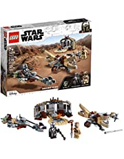 LEGO Star Wars: The Mandalorian Trouble on Tatooine 75299 Awesome Toy Building Kit for Kids Featuring The Child, New 2021 (277 Pieces)