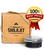 Natural Shilajit Resin (60 servings) - Top Quality Source of Organic, Plant-based Nutrients for Energy, Focus and Vitality.