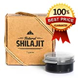 Natural Shilajit Resin (60 Servings) – Top Quality Source of Organic, Plant-Based Nutrients for Energy, Focus and Vitality.