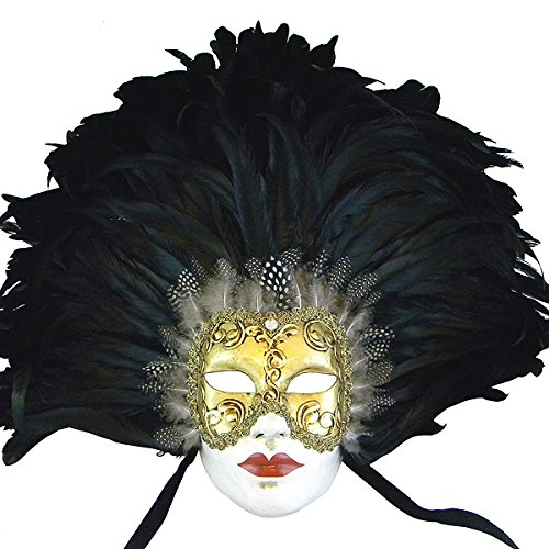Eyes Wide Shut Costumes (Eyes Wide Shut Feathered Volto Venetian Masquerade Mask)