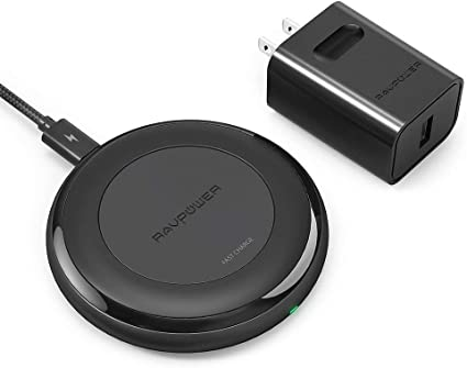 Amazon.com: RAVPower - Cargador inalámbrico rápido para ...