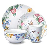 Pfaltzgraff Annabelle 32 Piece Dinnerware Set, Service for 8