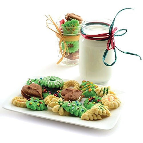 Best Professional Cookie Press Kit, 13 Metal Stainless Steel Cookie Press Discs by Norpro Kitchenware (Image #4)