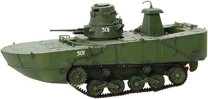 Amazon | ドラゴン 1/72 WW.II 日本海軍 水陸両用戦車 特二式内火艇 ...