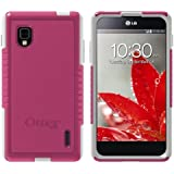OtterBox Commuter Series Case for LG Optimus G LS970 (Sprint Only) - Retail Packaging - Pink with White Trim (Avon Breast Cancer Crusade Special Edition)
