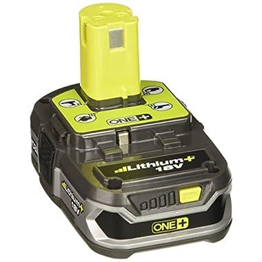 Ryobi P107 18-Volt Li-Ion Battery (2 pack in Bulk Package)