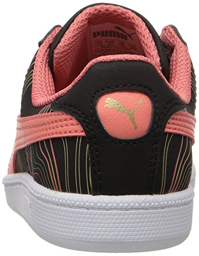Porcelain Buck Smash US 3 PUMA Kid Little Marble Fun Kids M Sneaker Rose Black FqnRH0wg