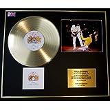DEEP PURPLE//Zweifache Goldene Schallplatte DISPLAY//Limitierte Edition//COA//DEEP PURPLE IN ROCK /& BURN
