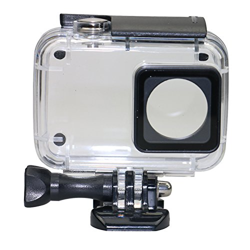 Kupton Case for Xiaomi 4K/ Yi 4K+ Diving Protective Housing Waterproof Case 40m for Xiaoyi 4K Xiaomi II Action Camera with - Camera Housing Case