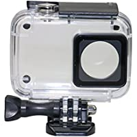 Kupton Case for Xiaomi 4K/ Yi 4K+/Yi Lite Diving Protective Housing Waterproof Case 40m for Xiaoyi 4K Xiaomi II / Yi Lite Action Camera with Bracket