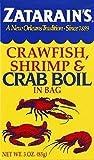 Zatarain's Crawfish/Shrimp/Crab Boil, 3-Ounce (Pack of 12)