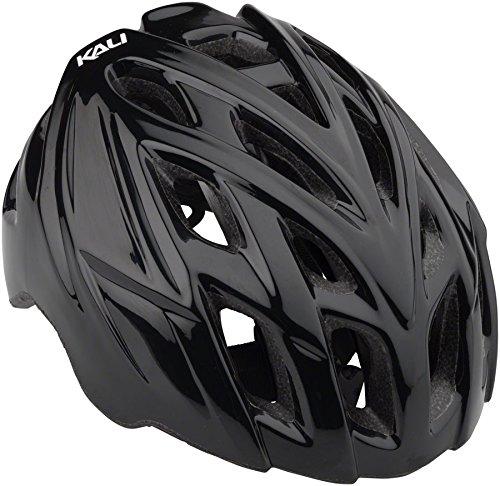 Kali Protectives Chakra Mono Helmet Solid Gls Black, M/L