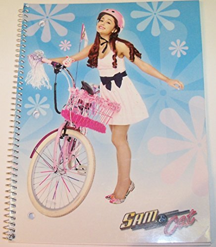 staples-wide-ruled-spiral-notebook-sam-cat-pink-bike-8-x-105-70-sheets-140-pages