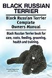 Black Russian Terrier. Black Russian Terrier