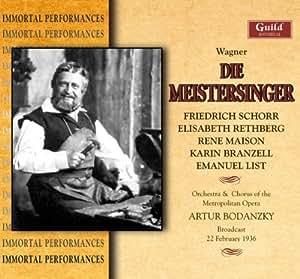 Wagner: Mastersingers of Nuremberg
