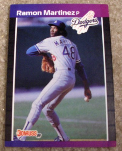 1989 Donruss Ramon Martinez 464 Mlb Baseball Card At