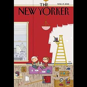 The New Yorker, March 19th 2012 (Francisco Goldman, David Owen, Sasha Frere-Jones) Periodical