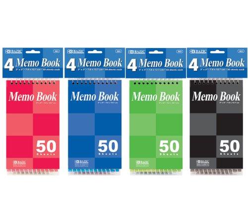 Pocket Spiral Notebook - BAZIC 50 Sheets 3