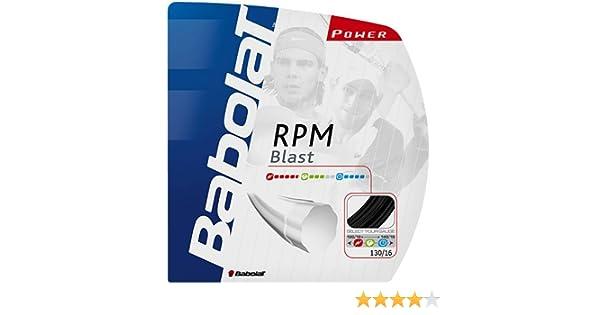 Amazon.com : Babolat RPM Blast 16G Tennis Strings [Misc.] : Tennis Racket String : Sports & Outdoors