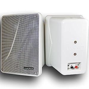 "Kicker 11 KB6000W WHITE 6-½"" Marine Speakers"