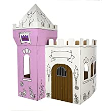Box Creations Corrugated Castle - Markers Included by Box Creations