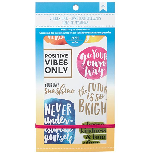 American Crafts 1654 Piece Inspirational Life Sticker Books