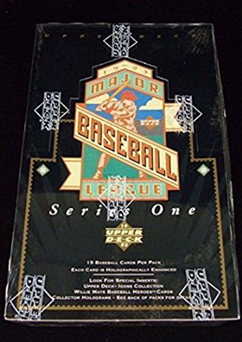 1993 Upper Deck Baseball Factory (1993 Upper Deck One Baseball Card Unopened Hobby Box)