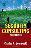 Security Consulting, Sennewald, Charles A., 0750677945