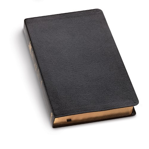 The Message Black Genuine Leather: The Bible in Contemporary Language