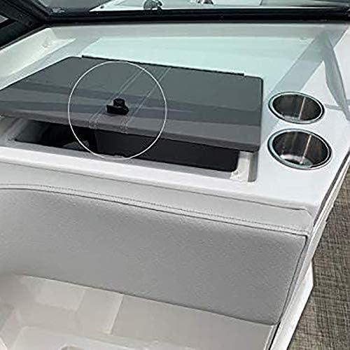 Fransande 1 Juego de Bloqueo de Bot/óN de Bloqueo para Marine Boat Radio Box Caja de Herramientas Caja Electr/óNica Cerradura de la Guantera de la Motocicleta.