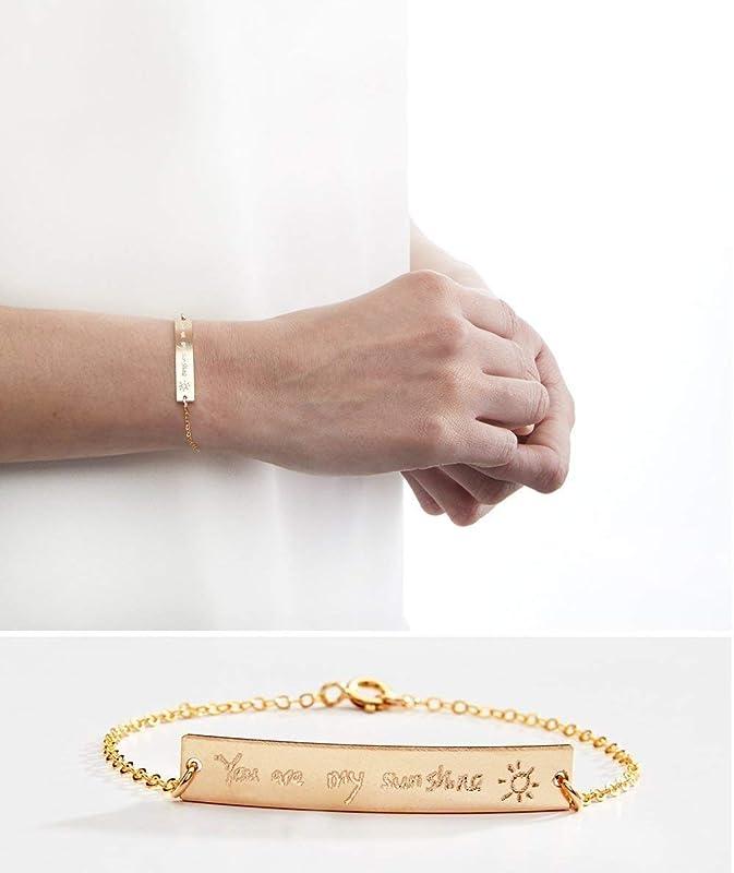 Handwriting Bracelet \u201cSerenity\u201d
