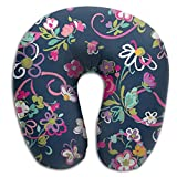 Vera Bradley Ribbons U Type Pillow Neck Pillow Super Soft Cervical Pillows Travel Pillows With Resilient Material Gifts For You