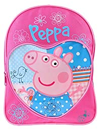 Peppa Pig Patchwork Backpack with Adjustable Backstraps