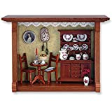Dollhouse Miniature 1:12 Scale Coffee Shop Shadow Box