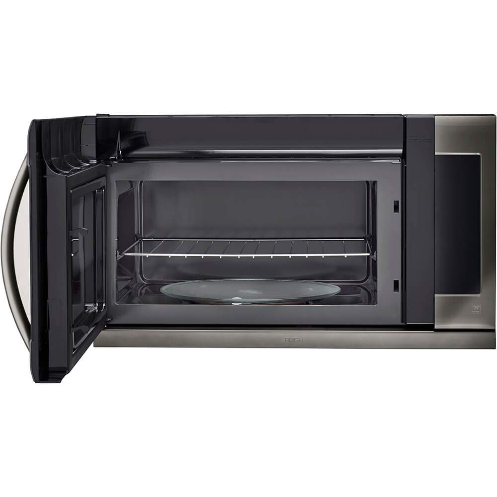 LG LMHM2237BD 2.2 cu. ft. Over-the-Range Microwave Oven with EasyClean by LG (Image #3)